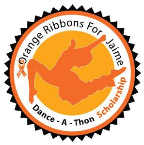 Orange Ribbons for Jaime Dance Scholarship